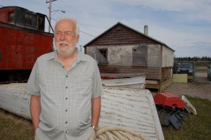 Hay River Museum Society chair Peter Osted says he would like to see more local people visit the heritage centre this season, as well as more volunteers who want to get involved in special projects. Sarah Ladik/NNSL photo