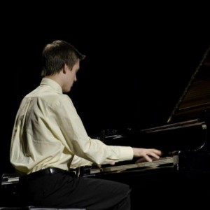 Malcolm St. John performed Chopin's Polonaise Op. 53 at the Canadian Music Competition in Sherbrooke, QC, on June 27. photo courtesy of Malcolm St. John