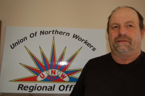 Sarah Ladik/NNSL photo Leon Nason, president of Local 6 of the Union of Northern Workers, says there have been problems for union staff at the Nats'ejee K'eh Treatment Centre stretching back at least five years.