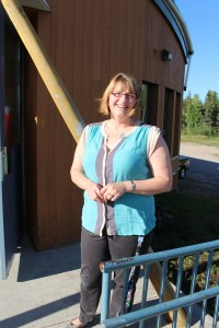 Sarah Ladik/NNSL photo Christina Steen, the new principal of Chief Sunrise Education Centre on the Hay River Reserve, says she's happy to be at the helm of such a great and inclusive team at the school.
