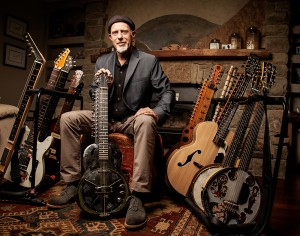 photo courtesy of Northern Arts and Cultural Centre Harry Manx, a well-known blues musician who fuses familiar styles with world music influences, will be playing in Hay River at the Riverview Cineplex on Nov. 15. Tickets are available online through the Northern Arts and Cultural Centre website and at the door.