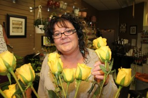 Paul Bickford/NNSL photo Michele Schmitz is the owner/operator of Kabloom Flowers & Gifts, a new store that recently opened in Hay River.