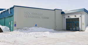 Myles Dolphin/NNSL photo The town of Hay River is exploring various renovation options for the Don Stewart Recreation Centre.  March 30, 2013