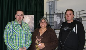 From left, Adam Gariepy, Sharon Pekok, and Michael Dupuis were ready to give a presentation at the Soaring Eagle Friendship Centre on the My Action Plan (MAP) Program Feb. 1, but no one came. Photo by Sarah Ladik NNSL