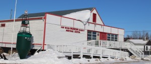New chair of the Hay River Museum Society Board Brad Mapes says he would like to see the museum open for longer seasons if a solution can be found for the heating costs. Photo by Sarah Ladik NNSL