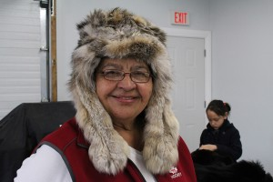 Jane Dragon says she always wore a fur hat to pick her kids up from school, despite their pleading with her to leave it at home. She says to always be proud of what you are. Photo by Sarah Ladik NNSL