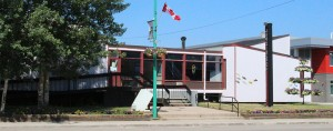 Sarah Ladik/NNSL photo Hay River's town hall has been closed for the foreseeable future as a result of a mold problem in the ventilation system.