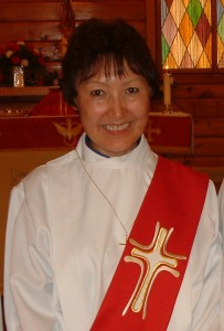 The late Georgina Bassett was ordained as an Anglican priest on Sept. 12, 2012. She had been named 2011 Citizen of the Year in Hay River earlier that year. Bassett died of breast cancer on July 8. -- NNSL file photo
