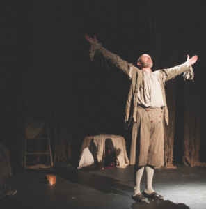 photo courtesy of Summer Meyer Christopher Hunt is the star of When That I Was, the latest offering from the Northern Arts and Cultural Centre. It will play in Inuvik on Nov. 12.