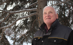 Gary Vizniowski has been running the Hay River Christmas Bird Count since the mid-2000s and enjoys being part of the activity documenting the local fauna. Photo by Sarah Ladik NNSL