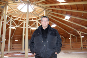 Ken Norn, chief operating officer of Naegha Zhia Inc. Development arm of K'atlodeeche First Nation Arbour being renovated on Hay River Reserve March 25, 2015 Hay River Reserve Photo by Paul Bickford Northern News Services Ltd.