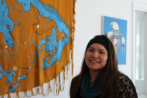 Sarah Ladik/NNSL photo Clarissa Neyando has taken over the position of program co-ordinator for the Soaring Eagle Friendship Centre and will be delivering programming for babies all the way through to elders.