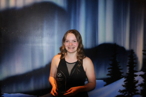 Photo courtesy of Glen McPhee Madison McPhee won Sport North's award for female athlete of the year at last month's annual banquet. McPhee was surprised, but says she was honoured to be recognized.