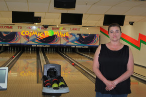 Sarah Ladik/NNSL photo Tracy Cross Gauthier says she's excited to open Lizard's Lounge and Lanes to the public and while eager to welcome back devoted bowlers, also hopes to welcome those who just want a place to hang out.