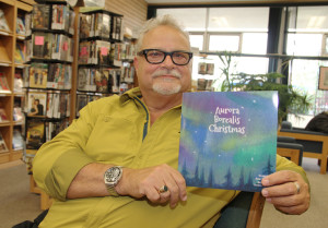 Brian Willows Writer of Aurora Borealis Christmas New children's book Aug. 13, 2015 Hay River Photo by Paul Bickford Northern News Services Ltd.