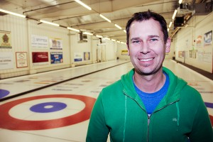 Paul Bickford/NNSL photo Glenn Smith is leading the Hay River Curling Club's new fundraising initiative.