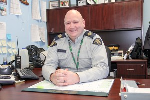 0302cod!_new Sgt. Tyler Codling Commander of RCMP Hay River detachment Leaving for detachment in Alberta on Feb. 5, 2016 Jan. 27, 2016 Hay River Photo by Paul Bickford Northern News Services Ltd.