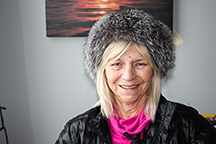 Diana Yeager/NNSL photo Edna Dow is the recipient of the 2016 Wise Woman award for the South Slave. She will travel to Yellowknife on March 8 for the ceremony to honour her and the other women who have worked hard to better their communities.