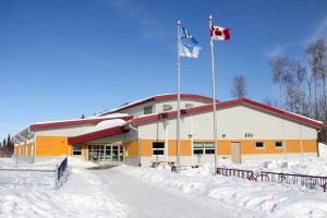 Paul Bickford/NNSL photo Ecole Boreale, the French-language school in Hay River, is experiencing a decline in enrolment.