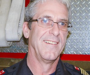 NNSL file photo Fire Chief Ross Potter: more volunteers needed for Hay River Fire Department.