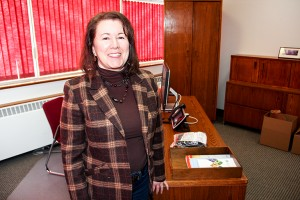 Paul Bickford/NNSL photo Judy Goucher retired on April 1 as chief financial officer with the Northwest Territories Power Corporation.