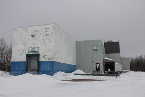 Paul Bickford/NNSL photo The existing fish plant in Hay River is 40 years old.