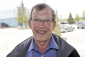Paul Bickford/NNSL photo Tom Makepeace: new president of Hay River Seniors' Society was elected by e-mail in early May.