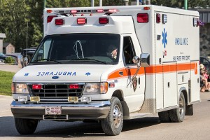 Shane Magee/NNSL photo The cost of using an ambulance for some town residents could double if council approves new fees for the emergency medical service. July 1, 2016