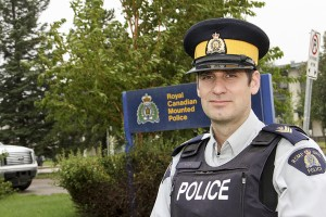 Paul Bickford/NNSL photo Sgt. Philippe Cyr is the new commander of the RCMP Detachment in Hay River.