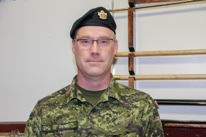 Paul Bickford/NNSL photo Poul Osted has been the commanding officer of the Hay River Army Cadet Corps for about nine years.